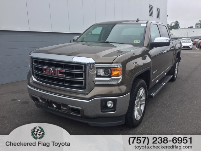 Pre Owned 2014 Gmc Sierra 1500 Slt 4d Crew Cab In Virginia Beach