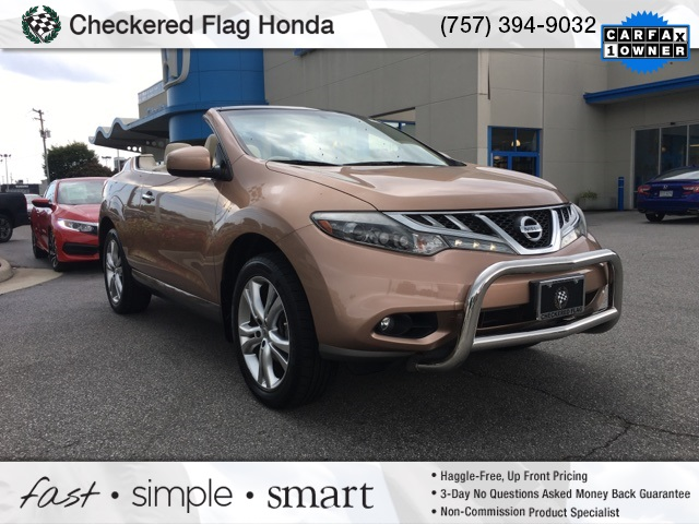 Pre Owned 2011 Nissan Murano CrossCabriolet Base