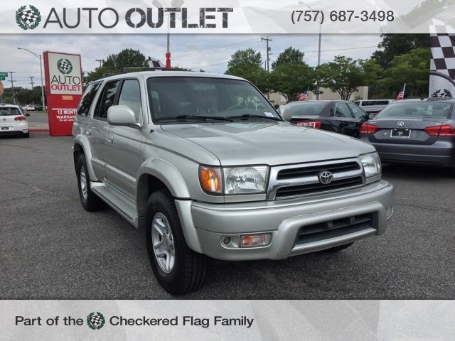 Pre-Owned 2000 Toyota 4Runner Limited