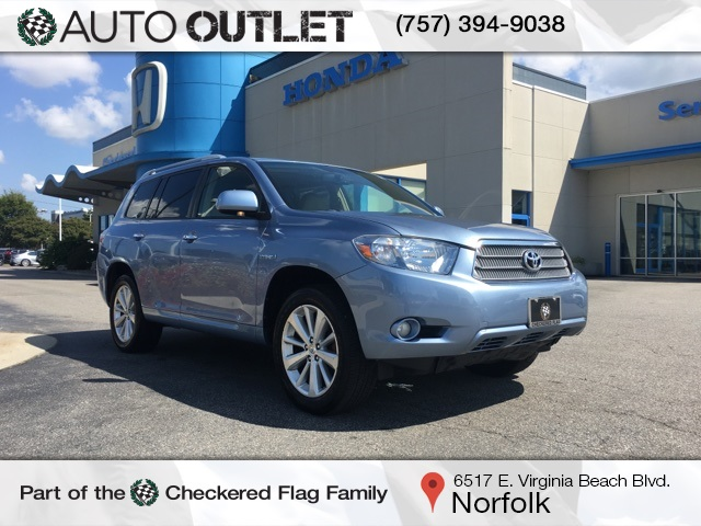 Pre Owned 2008 Toyota Highlander Hybrid Limited