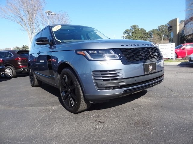 Pre-Owned 2018 Land Rover Range Rover 3.0L V6 Supercharged HSE