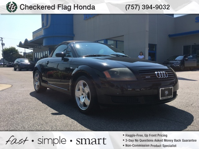 PreOwned Audi TT Base D Convertible In Virginia Beach - Pre owned audi