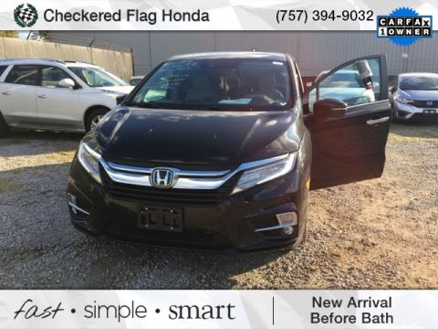 Pre-Owned 2018 Honda Odyssey Touring
