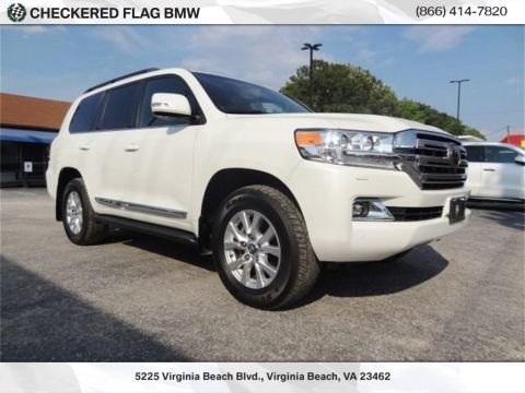 Pre-Owned 2018 Toyota Land Cruiser Base